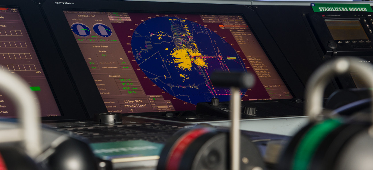 VisionMaster FT Radar Image