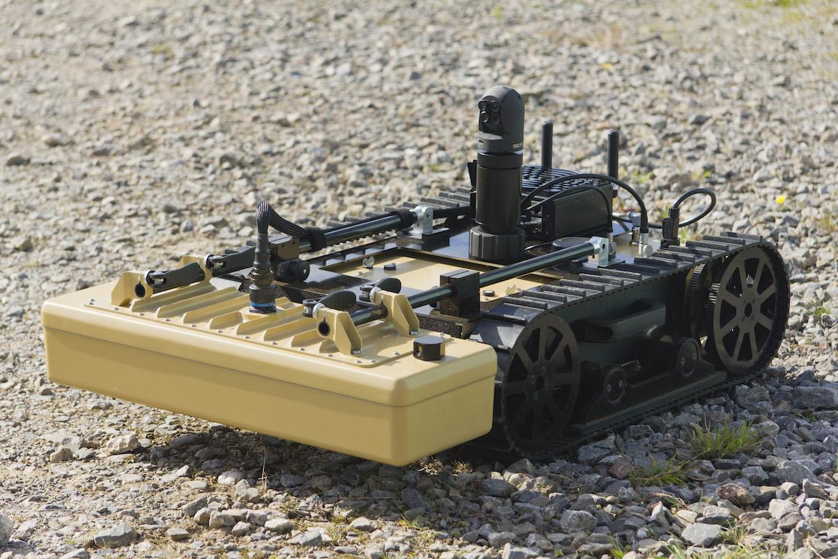 Unmanned EODS Image