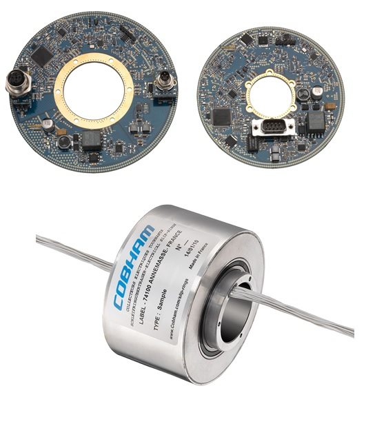 Contactless Through Bore Slip Ring Image