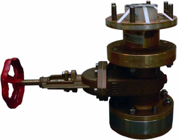 ETNSLB 100 mm Gate Valve Single Bottom Image
