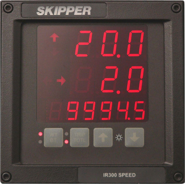 Digital Speed Indicator SKIPPER IR300 Image